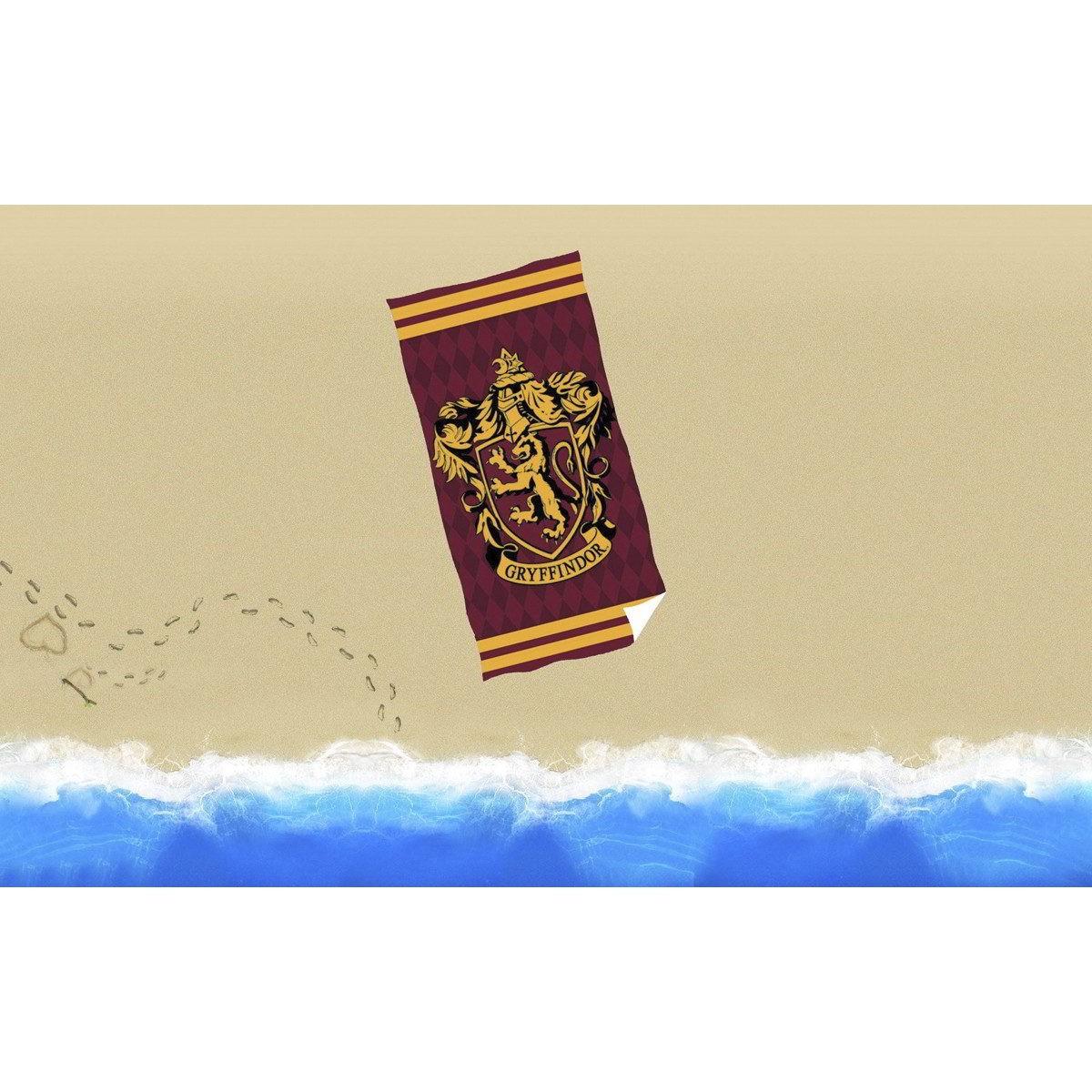 Toalla de Ba/ño Playa Piscina Harry Potter 140 x 70 cm Estilo Kawaii