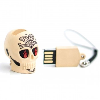 Pendrive Memoria USB TECH1TECH 16GB Calavera Tattoo