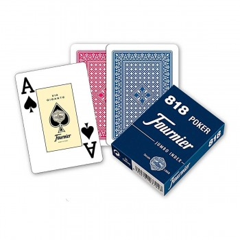 Baraja Póker Ingles FOURNIER, Modelo Nº818 55 Cartas