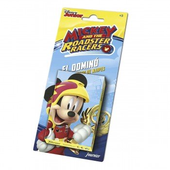 Juego De Cartas Infantil FOURNIER, Mickey And The Roadster Racers