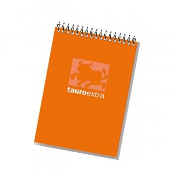 Cuaderno Notas Espiral TAURO Extra Apaisado, 80H Cuadriculado