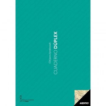 Cuaderno Profesor ADDITIO P142 Dúplex, Din-A4