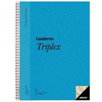 Cuaderno Profesor ADDITIO P192 Triplex, 310 x 225 mm.