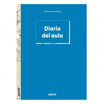 Cuaderno Profesor ADDITIO C112 Diaro Del Aula, 305 x 225 mm.