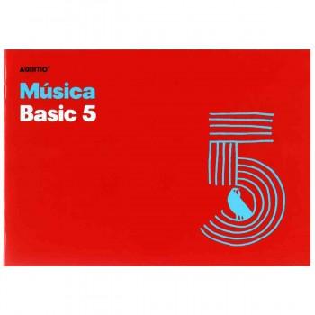 Cuaderno Música ADDITIO M05 Basic 5, 5 Pentagramas 170 x 240 mm.