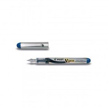Pluma Desechable PILOT V-Pen Silver
