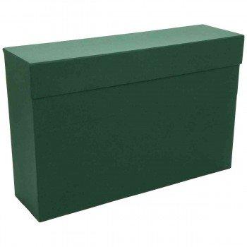 Caja Transferencia MARIOLA Verde, Folio Lomo 110 mm.