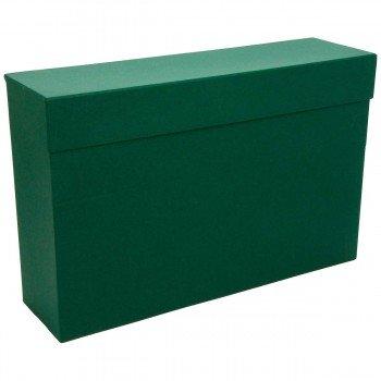 Caja Transferencia MARIOLA Verde, Din-A4 Lomo 110 mm.