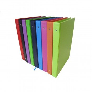 Carpeta Archivador SARO PVC, Folio 4 Anillas 40 mm.