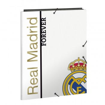 Carpeta Gomas Solapas REAL MADRID 1ª Equip. 2019/20, Folio