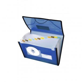 Carpeta Clasificadora FOLDERMATE Pop Gear, Din-A4 Gomas