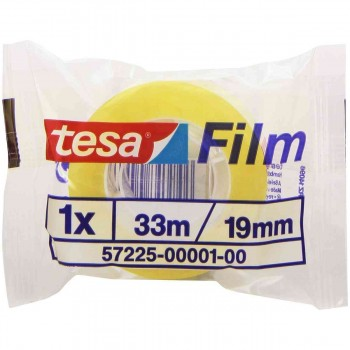 Cinta Adhesiva TESA Film Standard, 19 mm. x 33 m. Invisible