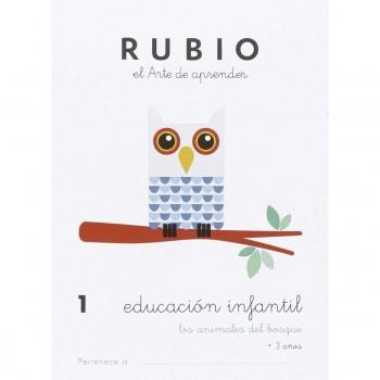 Cuaderno Aprendizaje RUBIO Educación Infantil