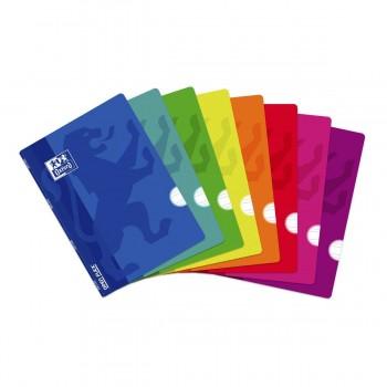 Cuadernos Libretas OXFORD Openflex, Din-A4 48H Tapa Plástico, Pack x10 Surtidos