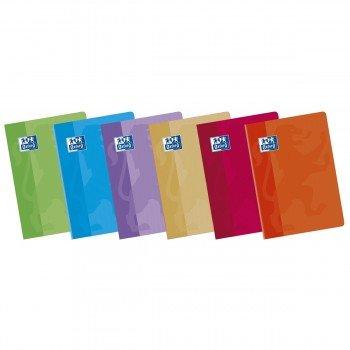 Cuadernos Libretas OXFORD Classic, Din-A5+ 48H Tapa Básica, Pack x10 Surtidos
