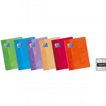 Cuadernos Libretas OXFORD Classic, Din-A4 48H Tapa Básica Pack x10 Surtidos