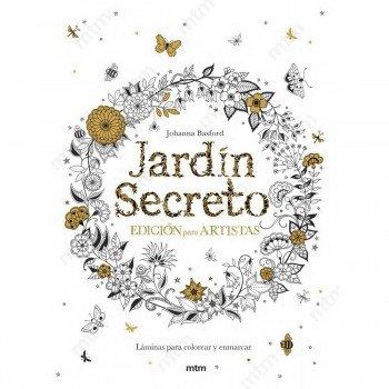 Libro Colorear MTM, El Jardín Secreto Ed. Artistas
