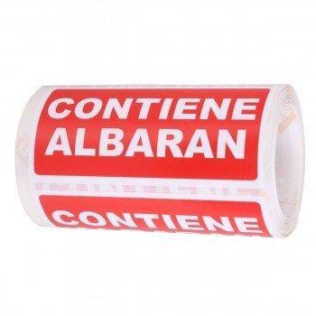 Etiquetas Envío APLI Albarán 50 x 100 mm, Rollo x200