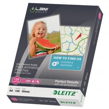 Funda Plastificar LEITZ iLAM Din-A6 155 x 110 mm, Caja x100
