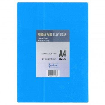 Funda Plastificar DOMINGO FERRER Color, Din-A4 Caja x100