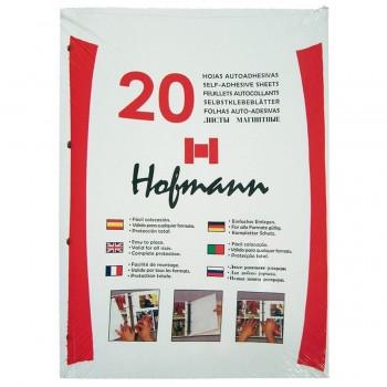 Hojas Autoadhesivas HOFMANN Folio 9620, Pack x20