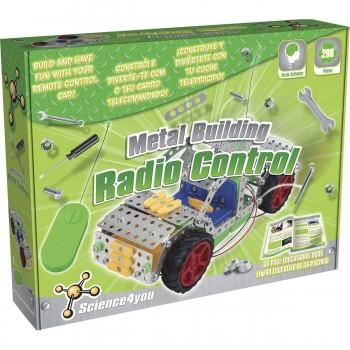 Juego Construcción SCIENCE4YOU Metal Building Coche Radiocontrol