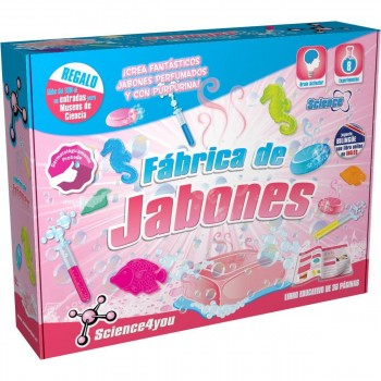 Juego Educativo SCIENCE4YOU, Fábrica De Jabones