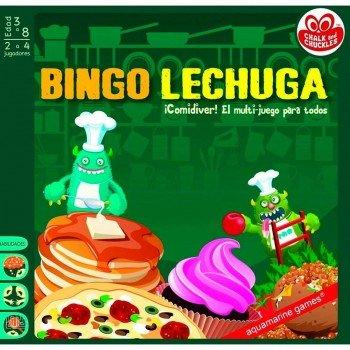 Juego Educativo CHALK & CHUCKLES, Bingo Lechuga