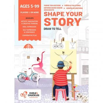 Juego Educativo CHALK & CHUCKLES, Shape Your History