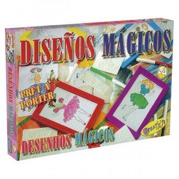 Juego Educativo FALOMIR, Diseños Mágicos
