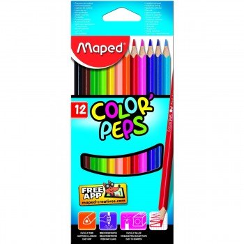 Lápices Color MAPED Color'Peps Classic