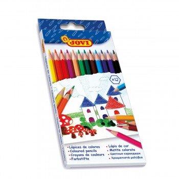 Lápices Color JOVI, Colores Surtidos