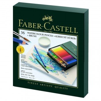 Lápices Acuarelables FABER-CASTELL Albrecht Dürer, Caja x36 Colores