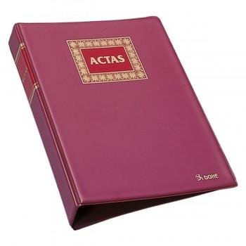 Libro Contable DOHE Hojas Móviles Din-4 Natural, Actas