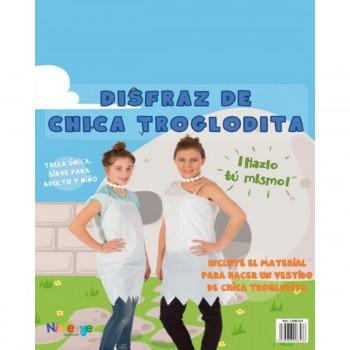 Disfraz Bolsa Plástico NIEFENVER Troglodita Chica