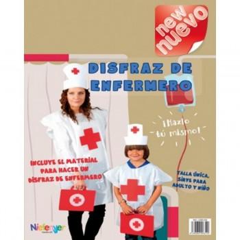 Disfraz Bolsa Plástico NIEFENVER Enfermera