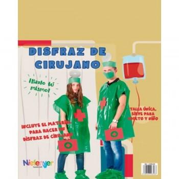 Disfraz Bolsa Plástico NIEFENVER Médico Cirujano