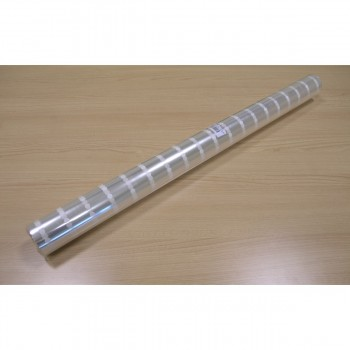 Papel Celofan Transparente Puntos Ordenados, Bobina 0,8 x 50 m.