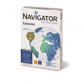 Papel NAVIGATOR Expression 90 gr. Din-A4, Paquete x500 Hojas