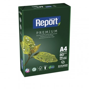 Papel SUZANO REPORT Premium 80 Gr. Din-A4, Pack x500 Hojas