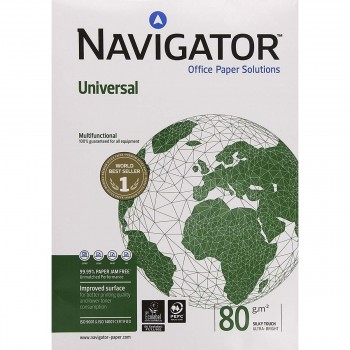 Papel NAVIGATOR Universal 80 gr. Din-A3, Paquete x500 Hojas