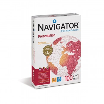 Papel NAVIGATOR Presentation 100 gr. Din-A4, Paquete x500 Hojas