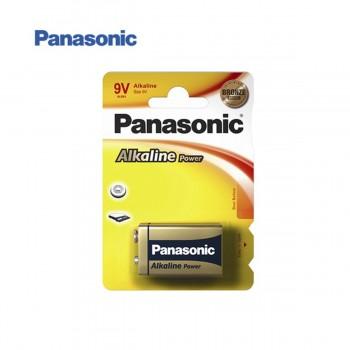 Pila Alcalina PANASONIC 6LR61 9V