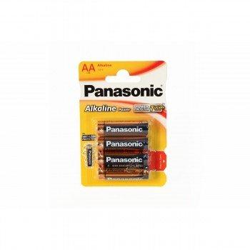 Pila Alcalina PANASONIC LR6 AA, Blister x4