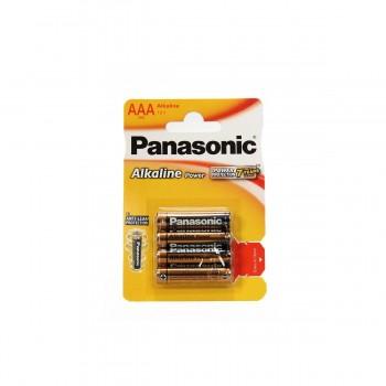 Pila Alcalina PANASONIC LR03 AAA, Blister x4