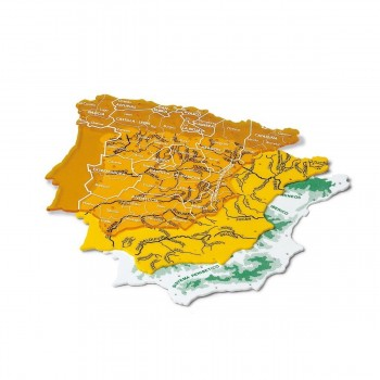 Plantillas Mapas España FAIBO 22 x 18,5 cm, Pack x3