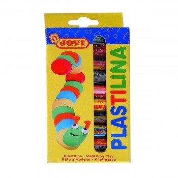 Plastilina JOVI Mod.90 15 gr, Caja x10 Colores