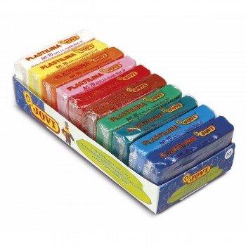 Plastilina JOVI 70 50 gr, Caja x10 Colores