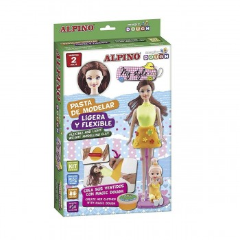 Kit Pasta Modelar ALPINO Magic Dough My Style