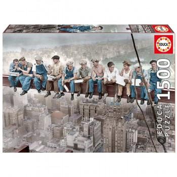 Puzzle EDUCA 1500 Piezas, Almuerzo En Nueva York